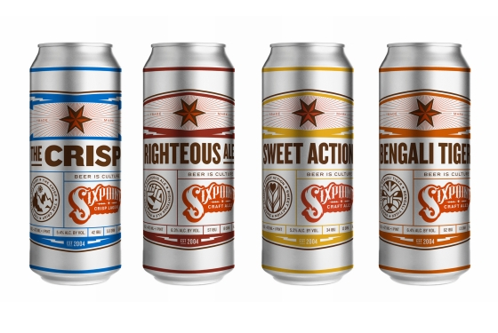 Latas Sixpoint Cans